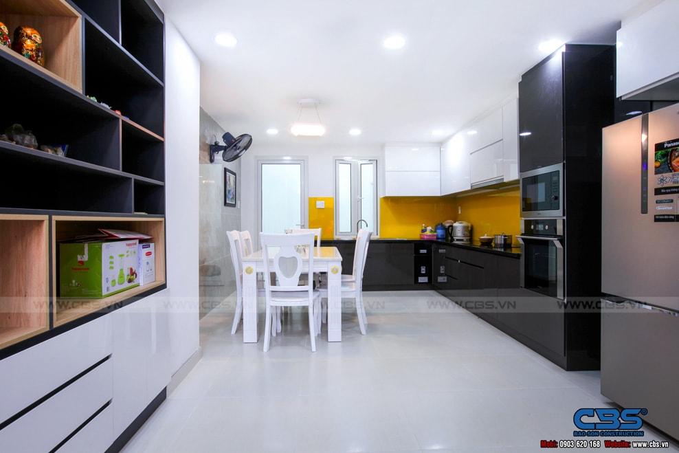 Xây dựng mới nhà cô Hương, Quận 11 5