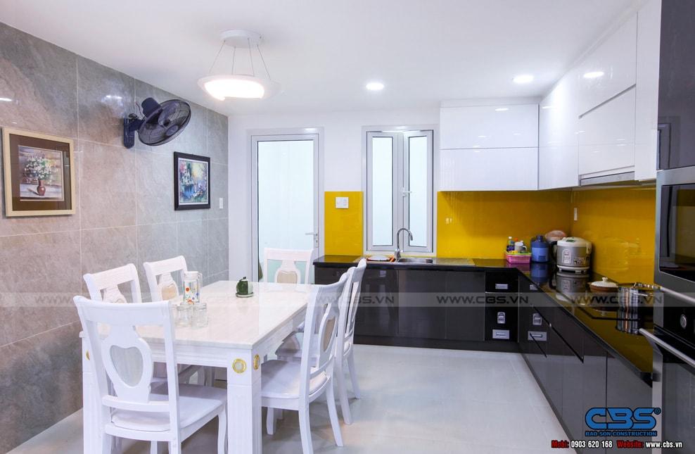 Xây dựng mới nhà cô Hương, Quận 11 6
