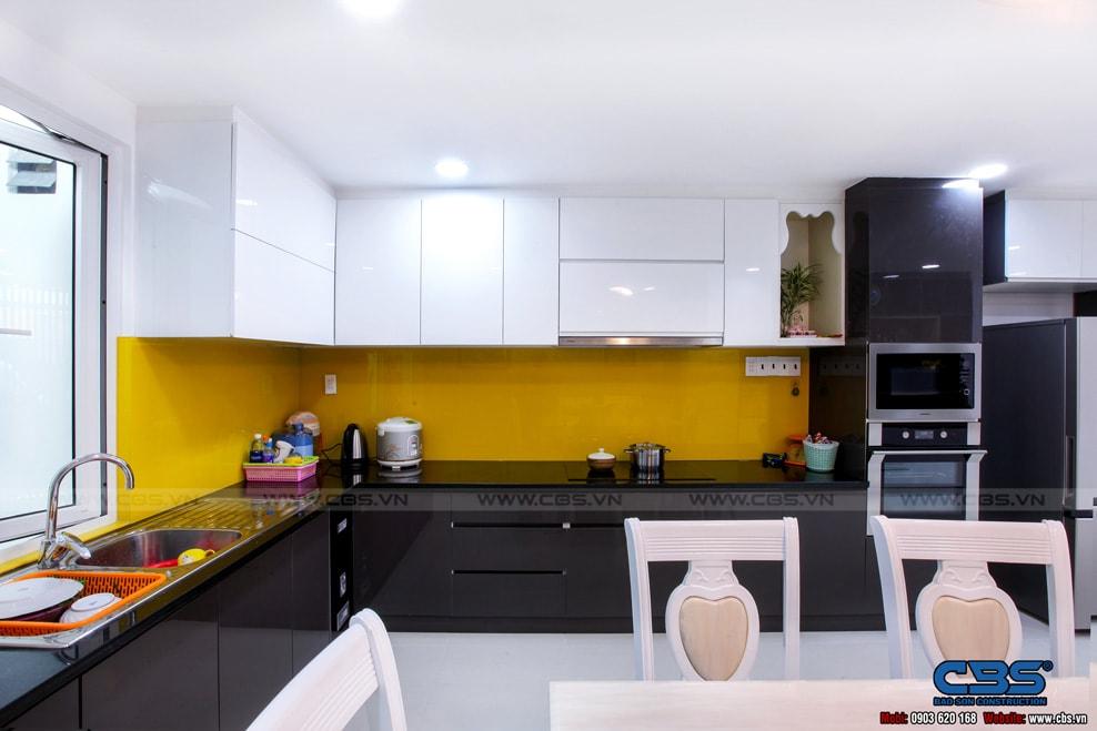 Xây dựng mới nhà cô Hương, Quận 11 81