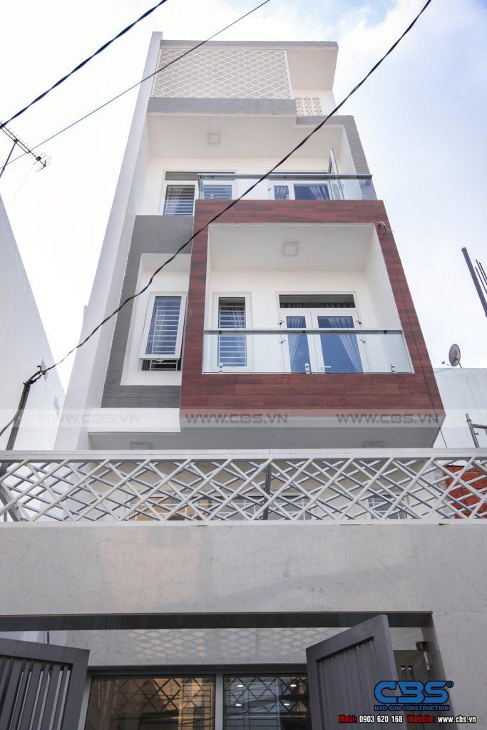 Xây dựng mới nhà cô Hương, Quận 11 1