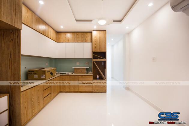 Tổng hợp một số mẫu bếp đẹp cho nhà phố hiện đại 11