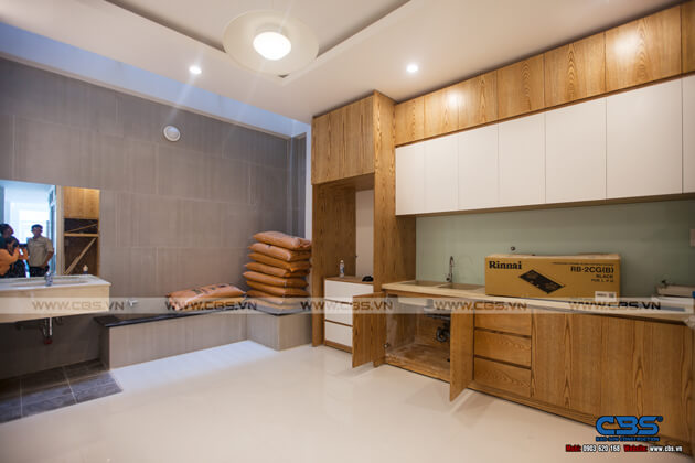 Tổng hợp một số mẫu bếp đẹp cho nhà phố hiện đại 13
