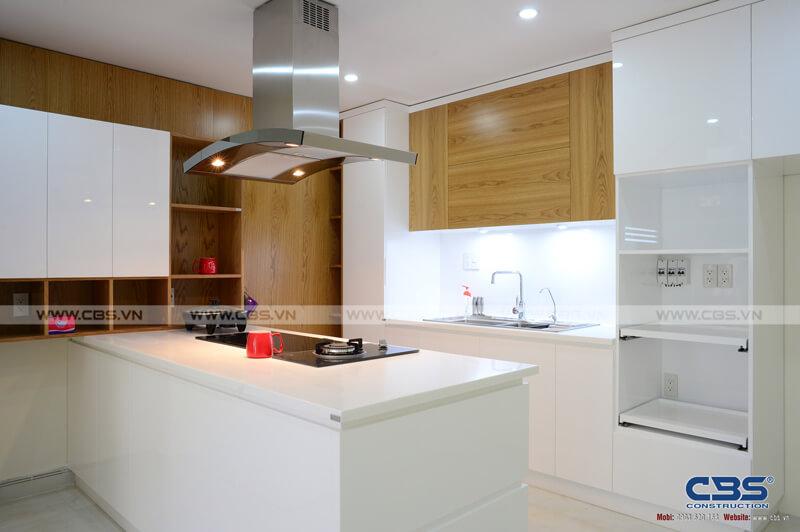 Tổng hợp một số mẫu bếp đẹp cho nhà phố hiện đại 7