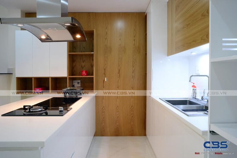 Tổng hợp một số mẫu bếp đẹp cho nhà phố hiện đại 8