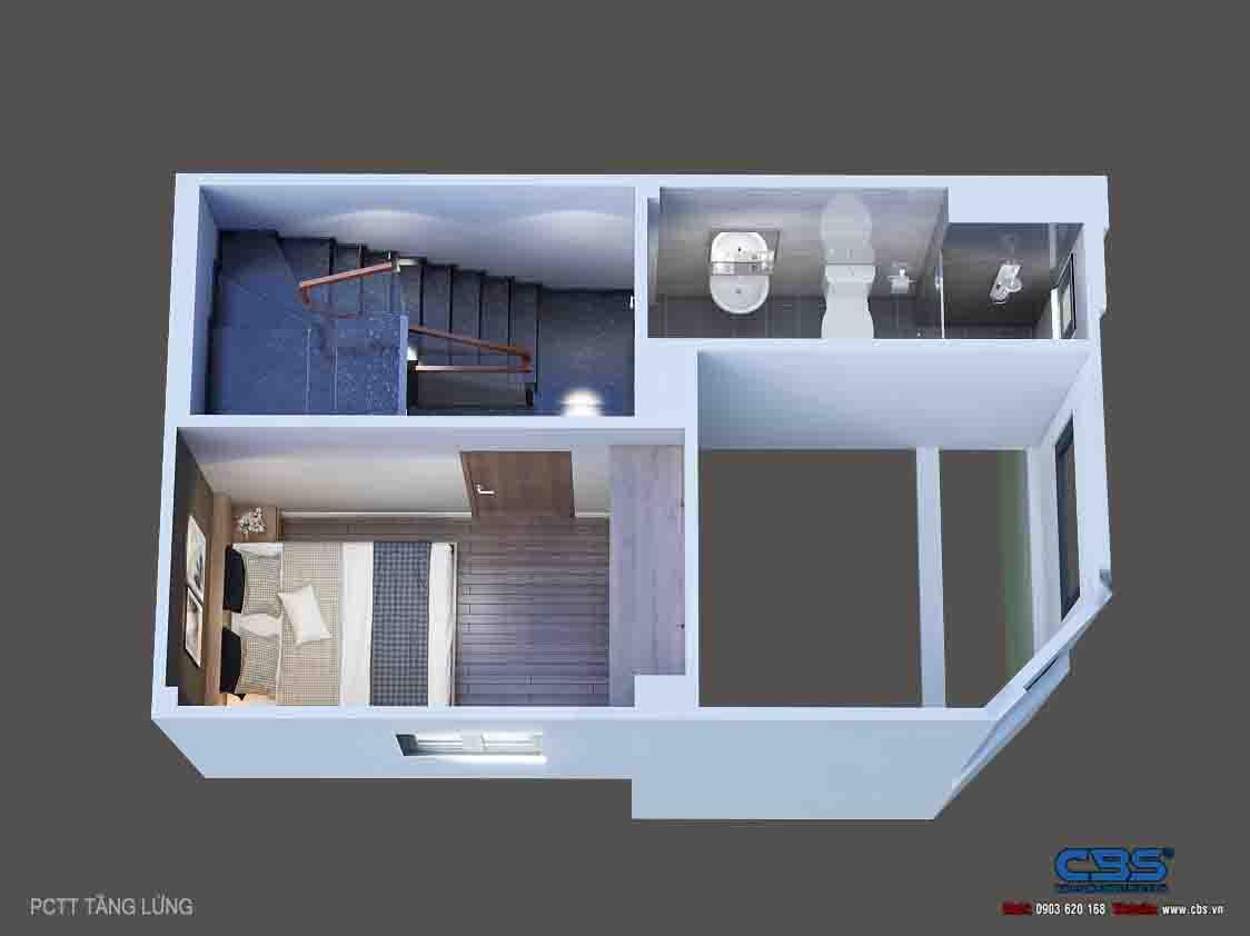 Mẫu nhà diện tích chỉ 4,5m x 7m chỉ hai lầu nhưng có tới 4 phòng ngủ với đầy đủ tiện nghi, đẹp và thoáng đến không tưởng... 20