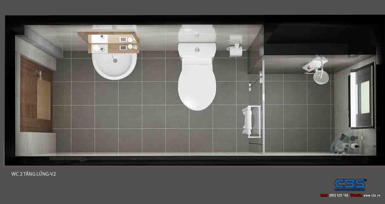 Mẫu nhà diện tích chỉ 4,5m x 7m chỉ hai lầu nhưng có tới 4 phòng ngủ với đầy đủ tiện nghi, đẹp và thoáng đến không tưởng... 26