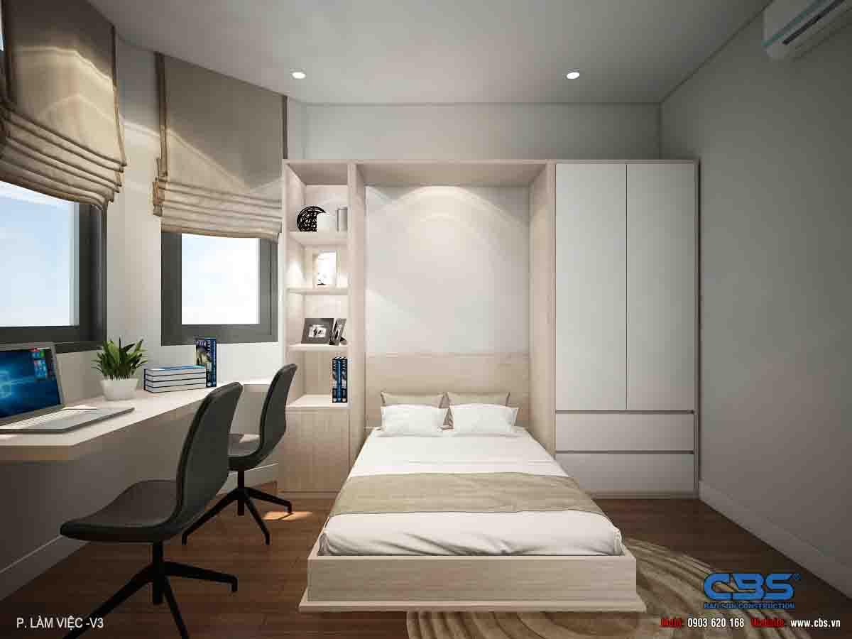 Mẫu nhà diện tích chỉ 4,5m x 7m chỉ hai lầu nhưng có tới 4 phòng ngủ với đầy đủ tiện nghi, đẹp và thoáng đến không tưởng... 38