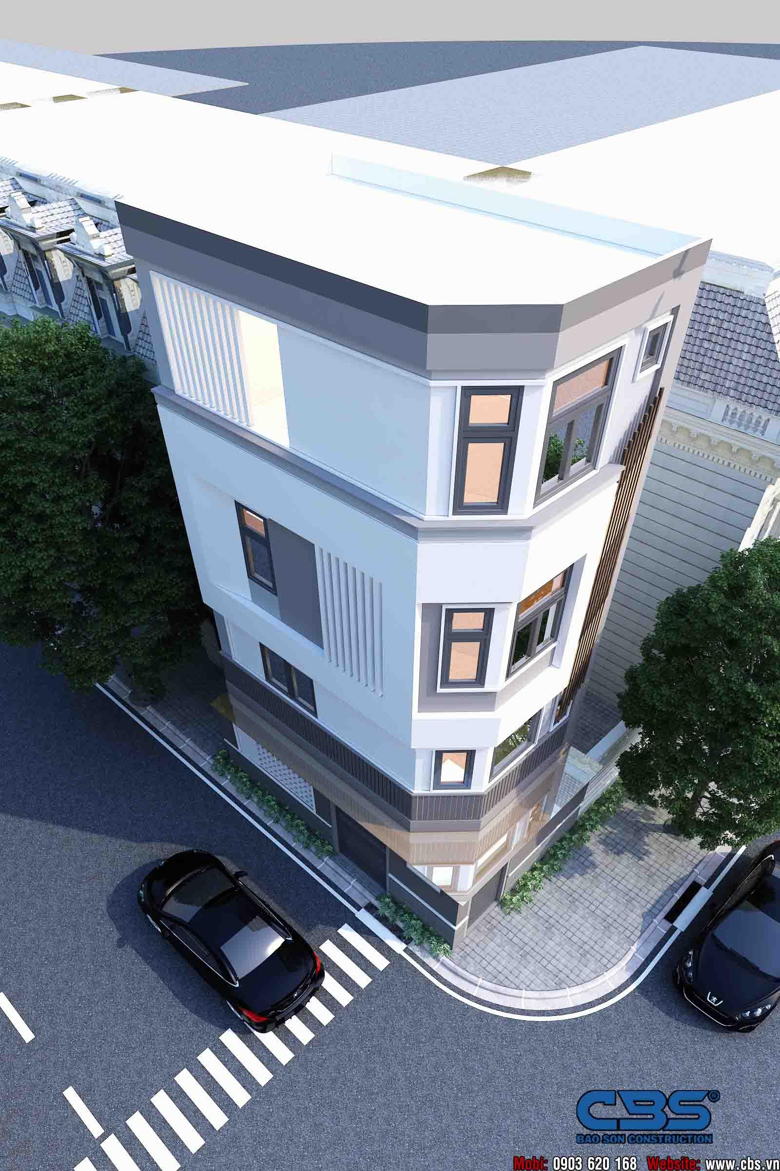 Mẫu nhà diện tích chỉ 4,5m x 7m chỉ hai lầu nhưng có tới 4 phòng ngủ với đầy đủ tiện nghi, đẹp và thoáng đến không tưởng... 9