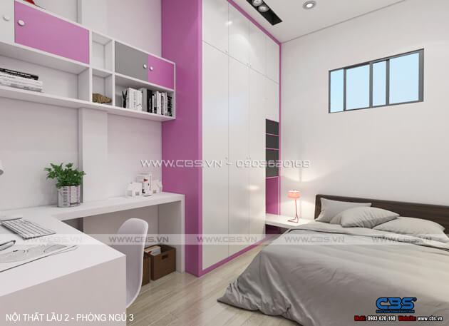Các mẫu phòng ngủ sắc hồng đáng yêu dành cho bé gái 14