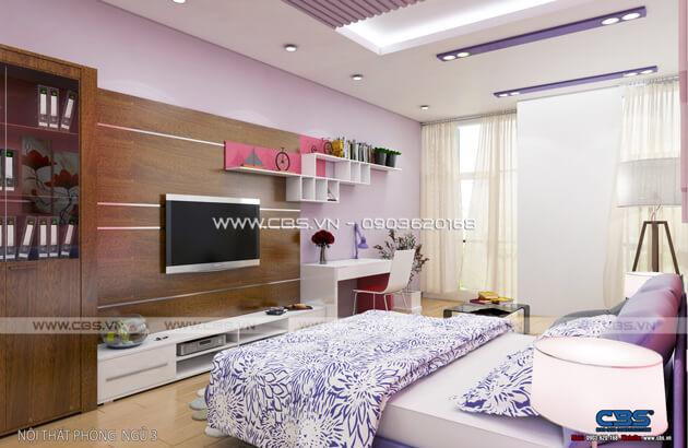 Các mẫu phòng ngủ sắc hồng đáng yêu dành cho bé gái 19