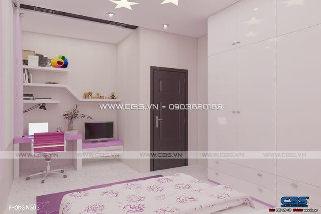 Các mẫu phòng ngủ sắc hồng đáng yêu dành cho bé gái 4