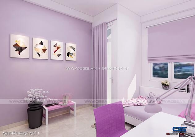 Các mẫu phòng ngủ sắc hồng đáng yêu dành cho bé gái 8