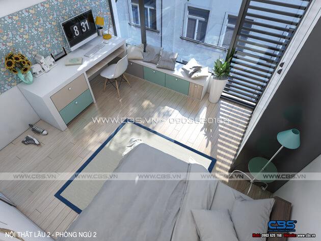 Mẫu thiết kế cho nhà phố diện tích 4m x 10m 14