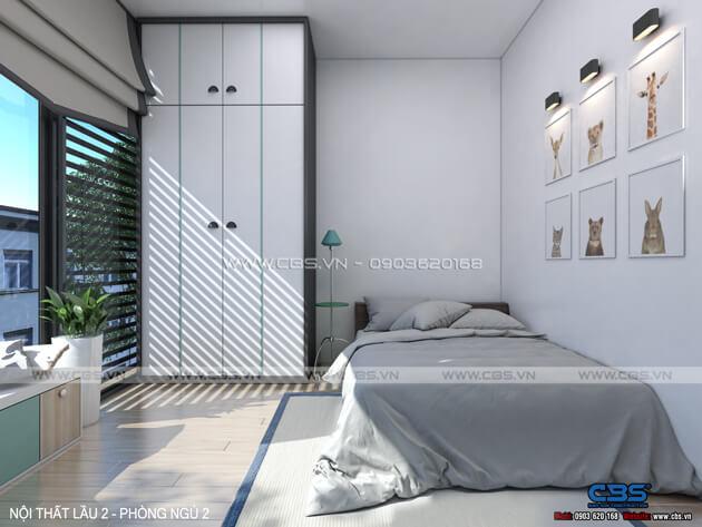 Mẫu thiết kế cho nhà phố diện tích 4m x 10m 16