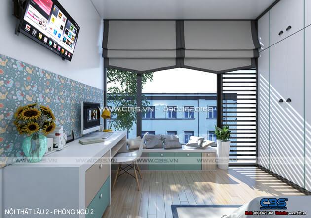 Mẫu thiết kế cho nhà phố diện tích 4m x 10m 17