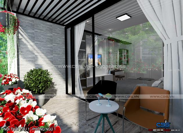 Mẫu thiết kế cho nhà phố diện tích 4m x 10m 19