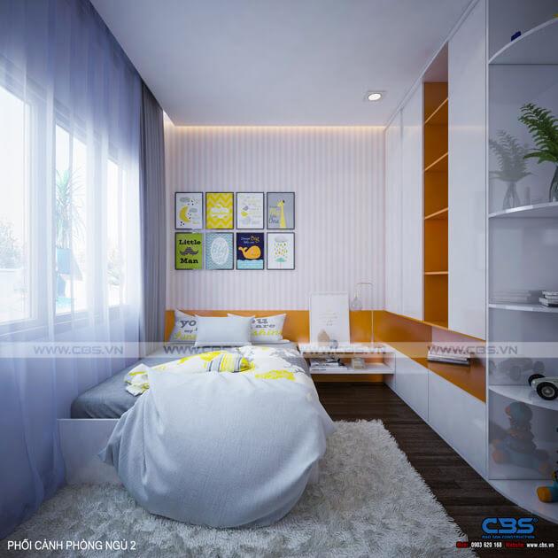 Mẫu thiết kế nhà phố 1 trệt 1 lầu đơn giản và đẹp mắt 14