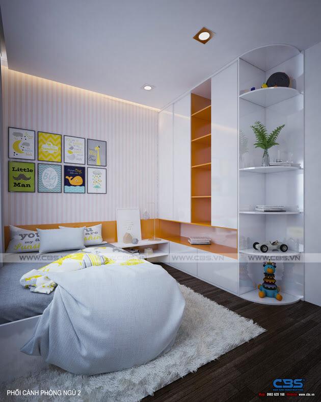 Mẫu thiết kế nhà phố 1 trệt 1 lầu đơn giản và đẹp mắt 15