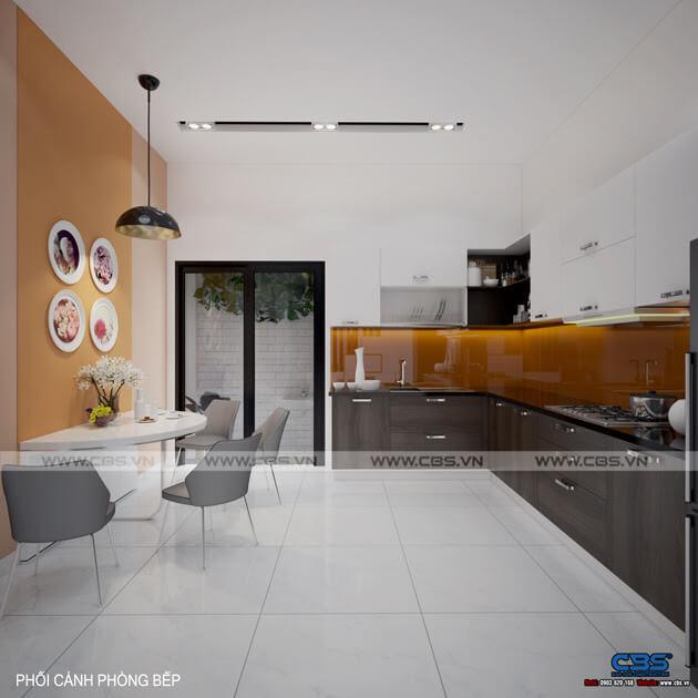 Mẫu thiết kế nhà phố 1 trệt 1 lầu đơn giản và đẹp mắt 6