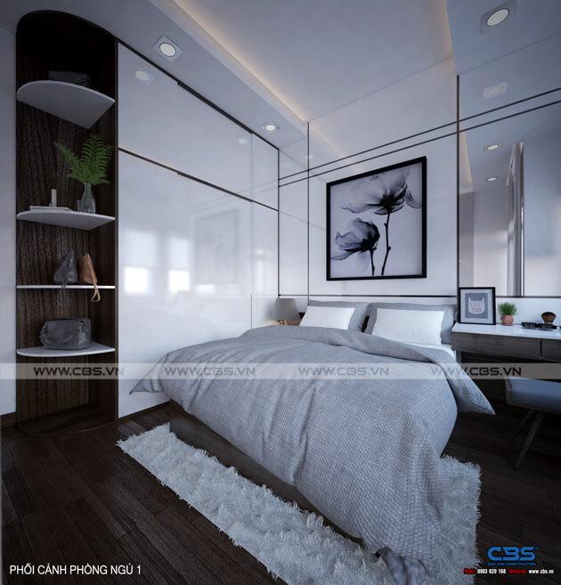 Mẫu thiết kế nhà phố 1 trệt 1 lầu đơn giản và đẹp mắt 10