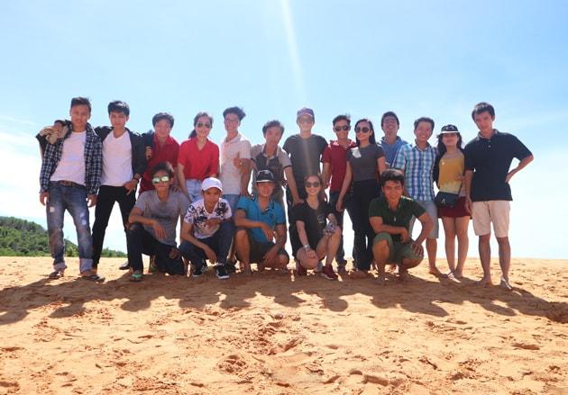Hành trình du lịch Mũi Né - Phan Thiết 2 ngày 1 đêm của tập thể Công ty Bảo Sơn 15