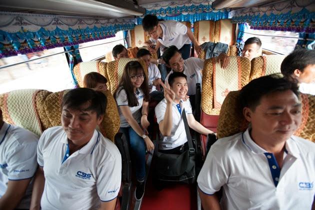 Hành trình du lịch Mũi Né - Phan Thiết 2 ngày 1 đêm của tập thể Công ty Bảo Sơn 5