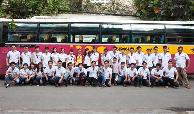 Hành trình du lịch Mũi Né - Phan Thiết 2 ngày 1 đêm của tập thể Công ty Bảo Sơn 1
