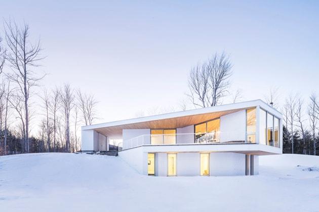 Nook Residence – ngôi nhà mùa đông bí ẩn tại Canada 2