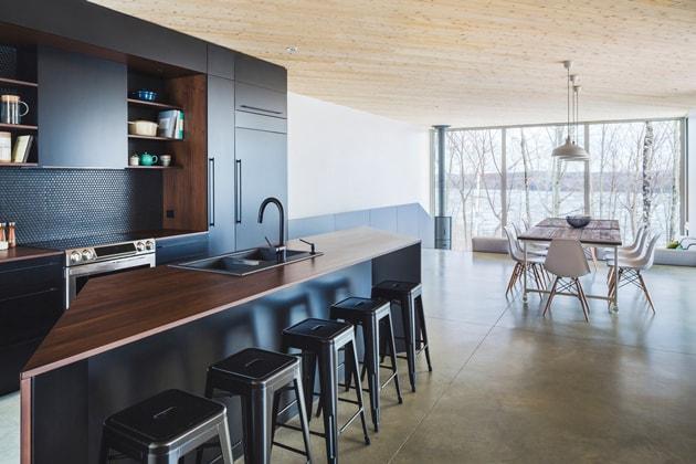 Nook Residence – ngôi nhà mùa đông bí ẩn tại Canada 3