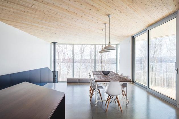 Nook Residence – ngôi nhà mùa đông bí ẩn tại Canada 4