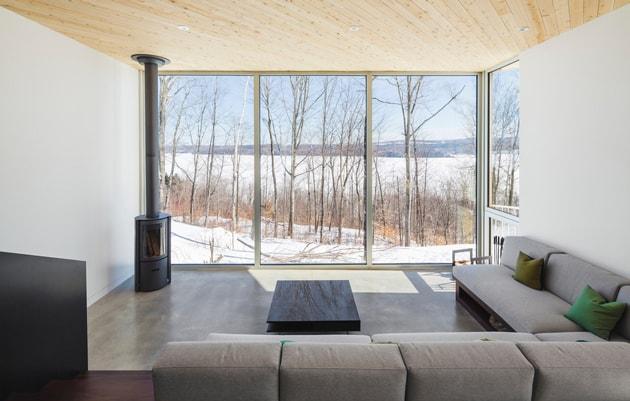 Nook Residence – ngôi nhà mùa đông bí ẩn tại Canada 5