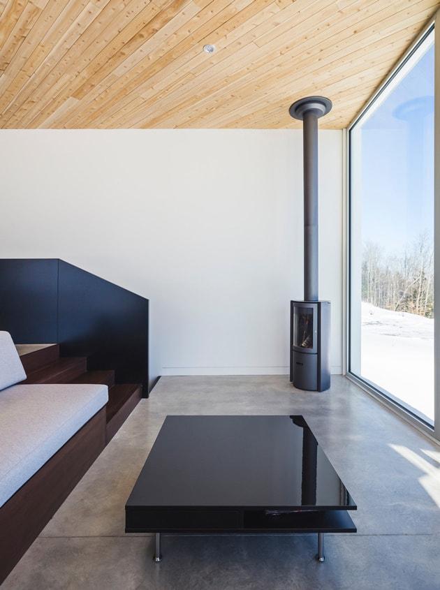 Nook Residence – ngôi nhà mùa đông bí ẩn tại Canada 9
