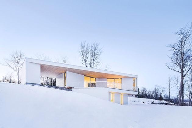 Nook Residence – ngôi nhà mùa đông bí ẩn tại Canada 1