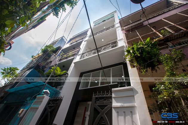 Nhà phố Quận 10 - mặt tiền bán cổ điển nội thất hiện đại (3,8m x 9,4m) 2