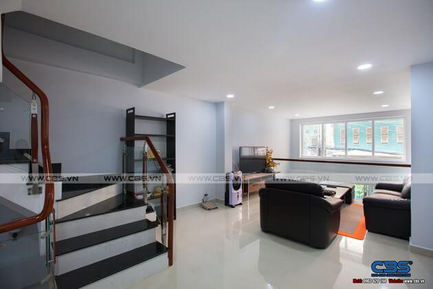 Nhà phố Quận 10 - mặt tiền bán cổ điển nội thất hiện đại (3,8m x 9,4m) 12