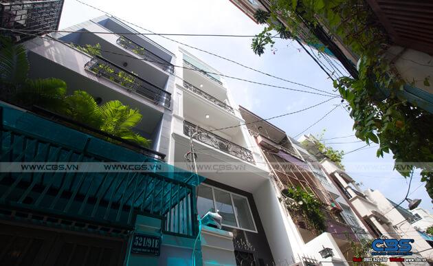 Nhà phố Quận 10 - mặt tiền bán cổ điển nội thất hiện đại (3,8m x 9,4m) 3