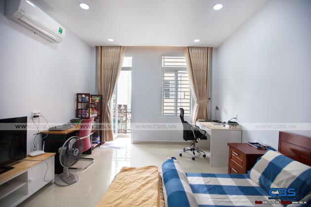 Nhà phố Quận 10 - mặt tiền bán cổ điển nội thất hiện đại (3,8m x 9,4m) 22