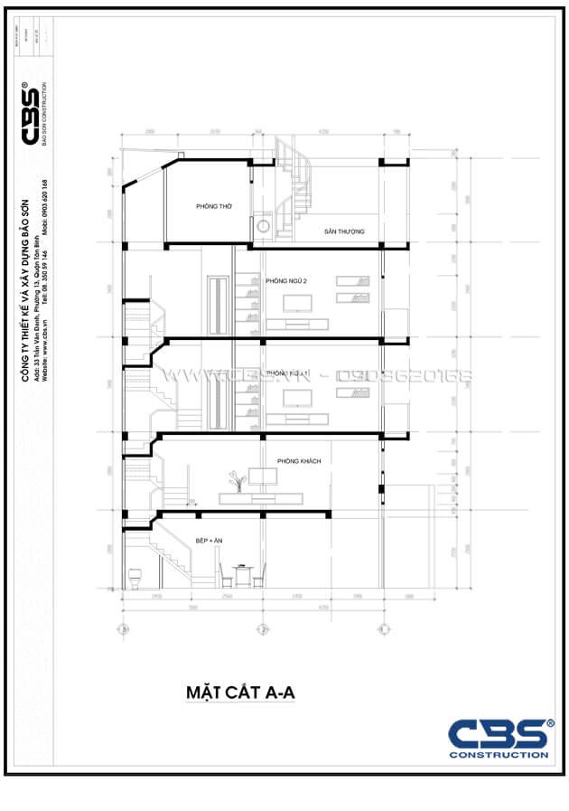 Nhà phố Quận 10 - mặt tiền bán cổ điển nội thất hiện đại (3,8m x 9,4m) 4