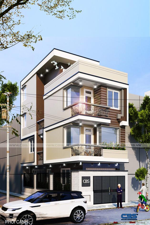 Thiết kế nhà phố bán cổ điển sang trọng tại Bình Dương (5m x 13m) 31