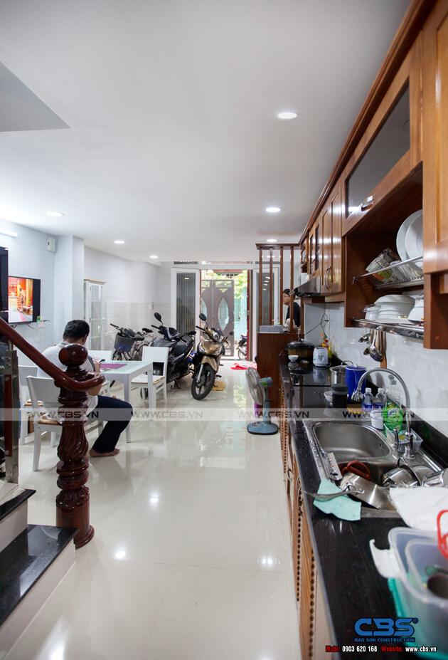 Nhà phố Quận 10 - mặt tiền bán cổ điển nội thất hiện đại (3,8m x 9,4m) 7