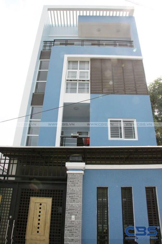 Bàn giao công trình nhà ở gia đình cô Xuân (8m x12m) 2