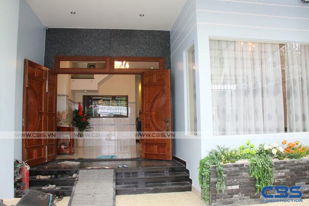 Bàn giao công trình nhà ở gia đình cô Xuân (8m x12m) 14