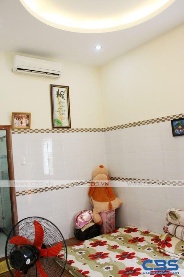 Bàn giao công trình nhà ở gia đình cô Xuân (8m x12m) 24