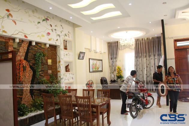 Bàn giao công trình nhà ở gia đình cô Xuân (8m x12m) 4