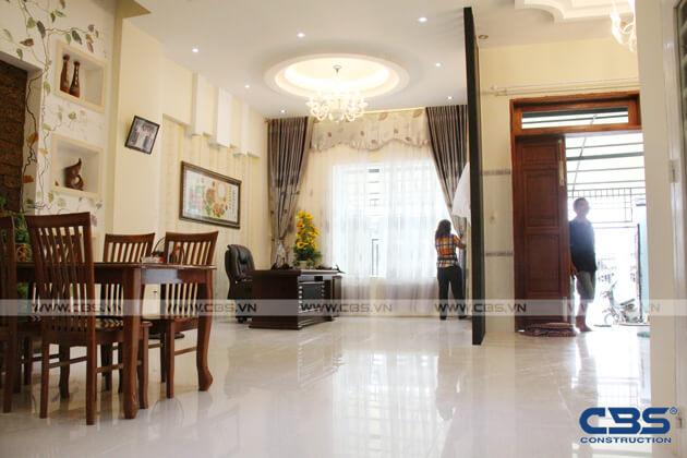 Bàn giao công trình nhà ở gia đình cô Xuân (8m x12m) 5