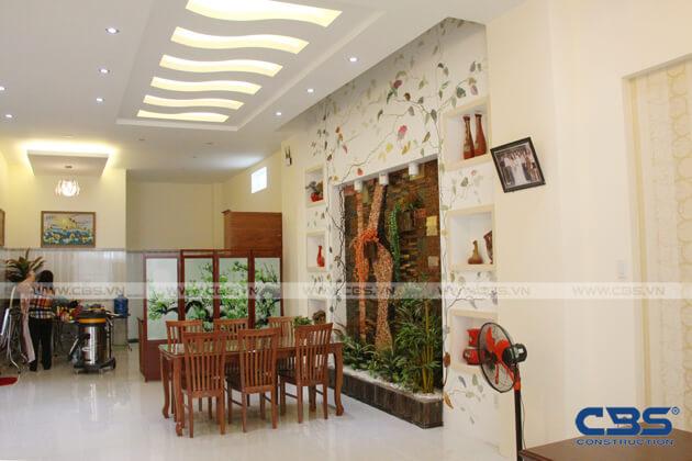 Bàn giao công trình nhà ở gia đình cô Xuân (8m x12m) 8