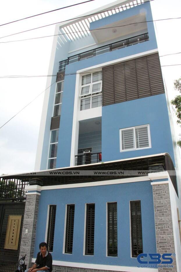 Bàn giao công trình nhà ở gia đình cô Xuân (8m x12m) 1
