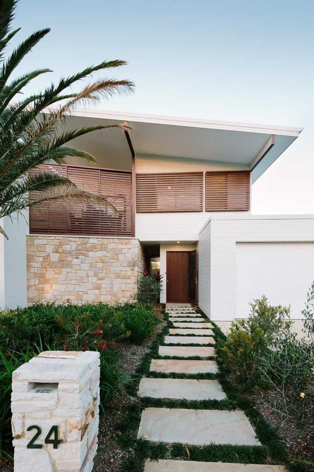 Mê đắm với ngôi nhà đẹp như thiên đường cạnh bờ biển nước Úc 2