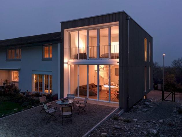 Ngôi nhà hiện đại tuyệt đẹp cho gia đình ba thế hệ tại Thụy Sĩ 1