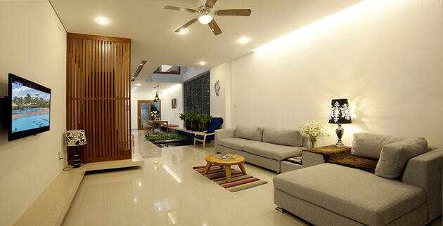 Nhà phố 2 tầng đơn giản, đẹp mắt và tràn ngập ánh sáng tự nhiên 6